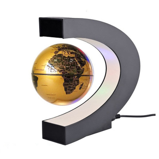 Magnetic Globe Student school teaching equipment Night light globe Creative Gifts 110/220V AC US/EU/UK/AU