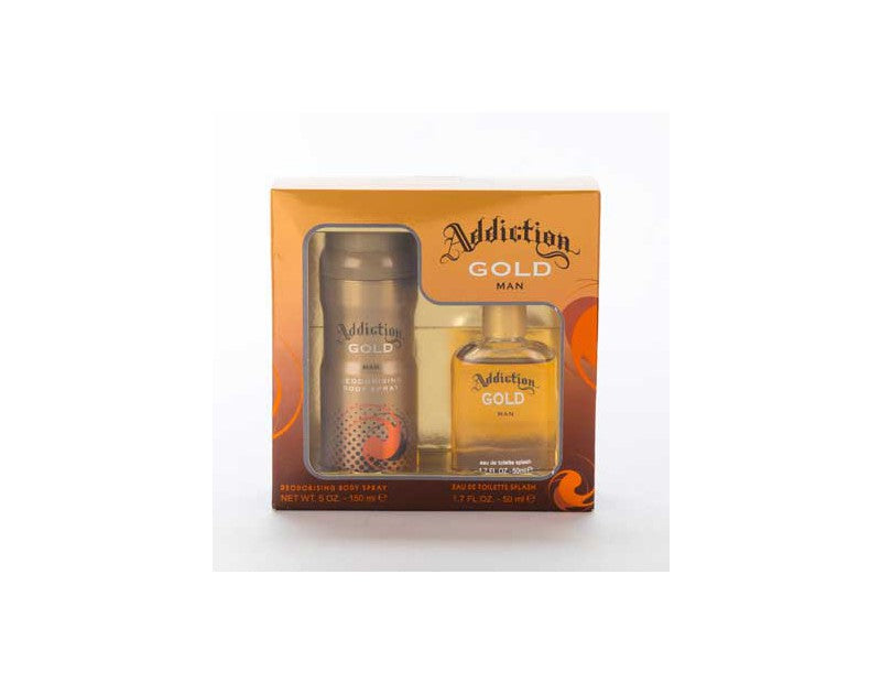 Addiction Gold Gift Set 2pce
