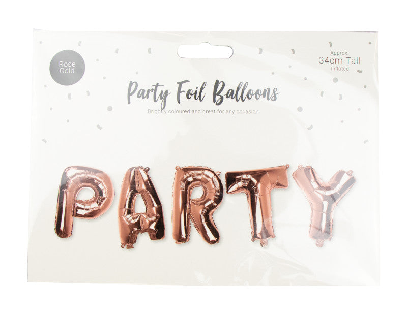 Brightly Coloured - Foil Balloon Party