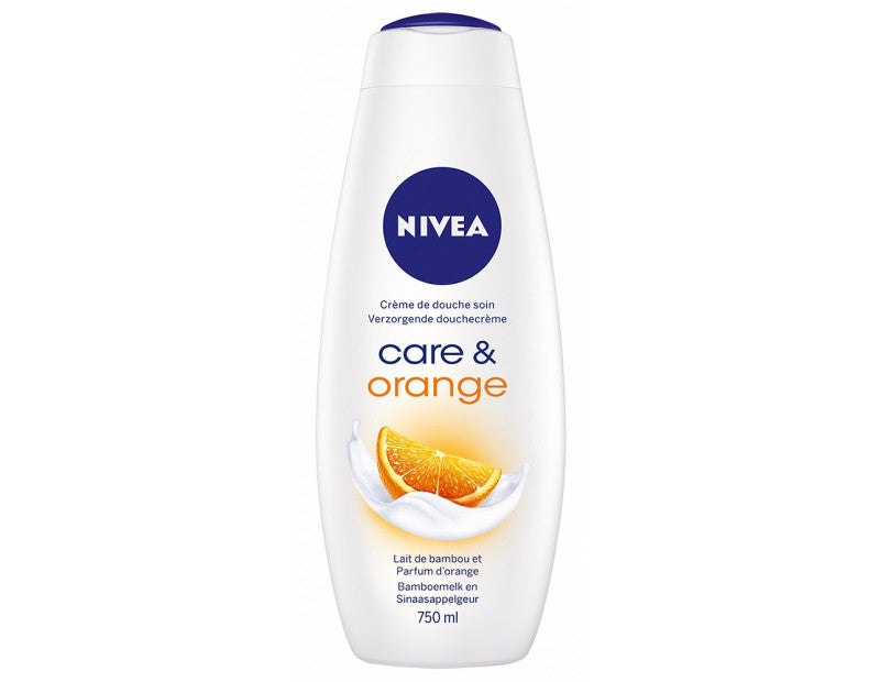 NIVEA - SHOWER GEL ORANGE 750ML