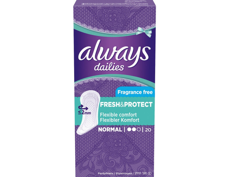 Always trusseindlæg - Fresh And Protect