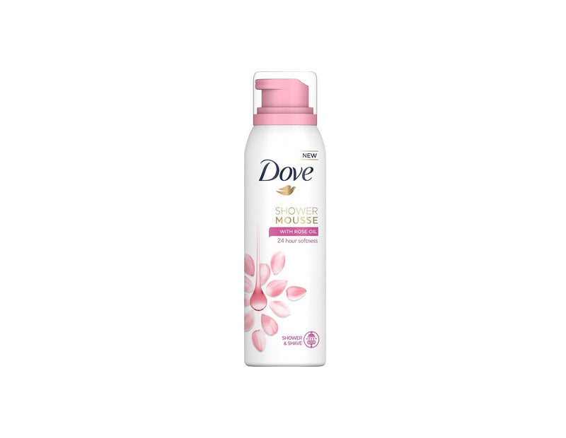 Dove Shower Mousse Women – Rose Oil 200 ml.