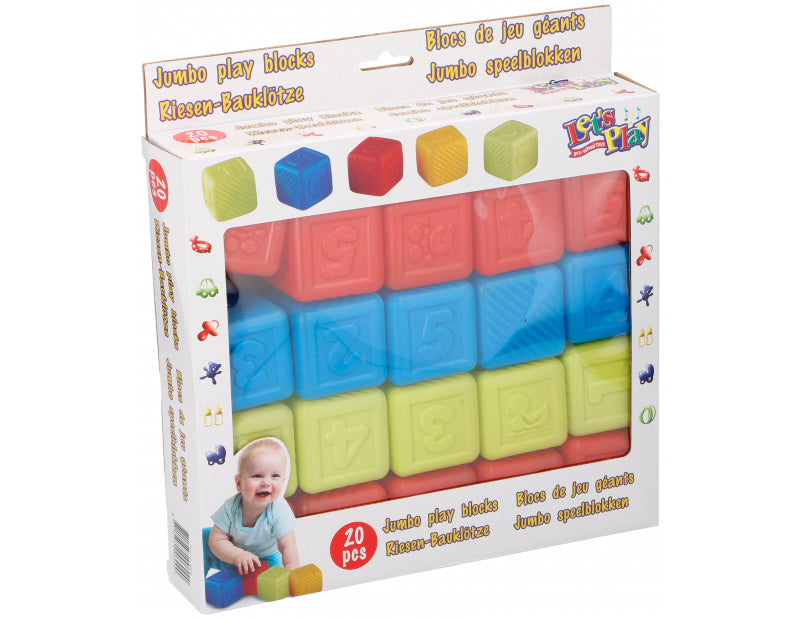 Jumbo play blocks 20pcs PL