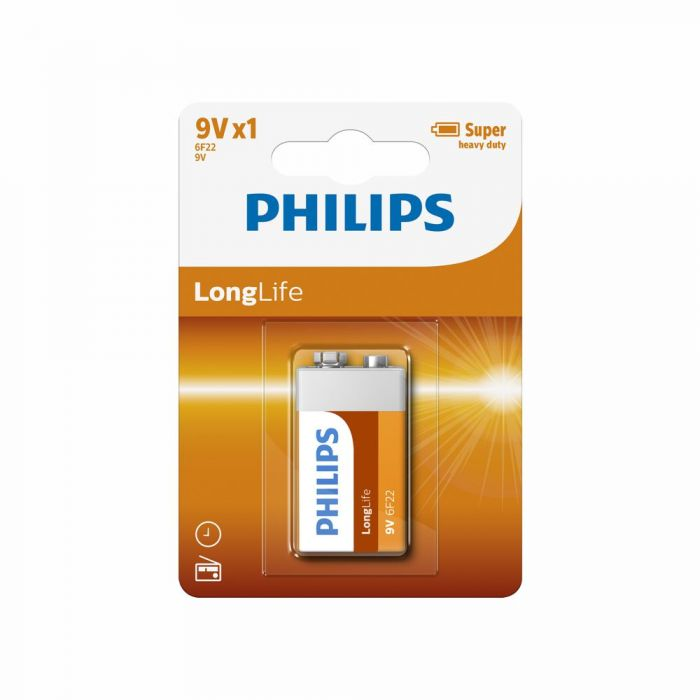 Philips - Long life 9V batterie