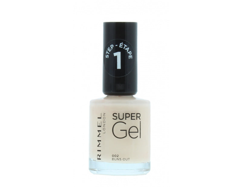 Rimmel Super Gel Neglelak 12ml - Buns Out 002