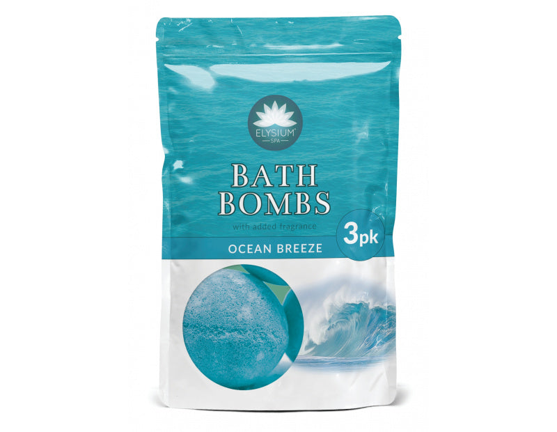 Elysium Spa Bad Bombs Have Breeze 3 X 50g