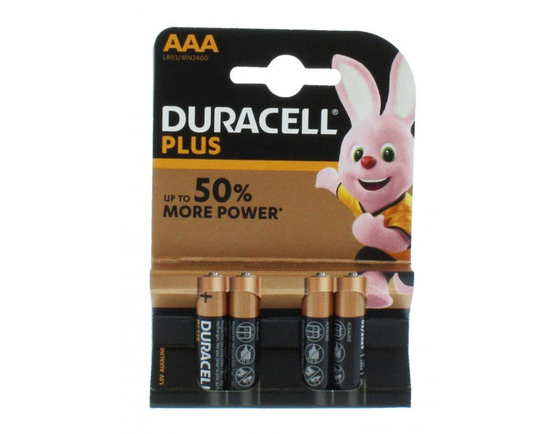 Duracell Plus - Power Aaa-Batterier