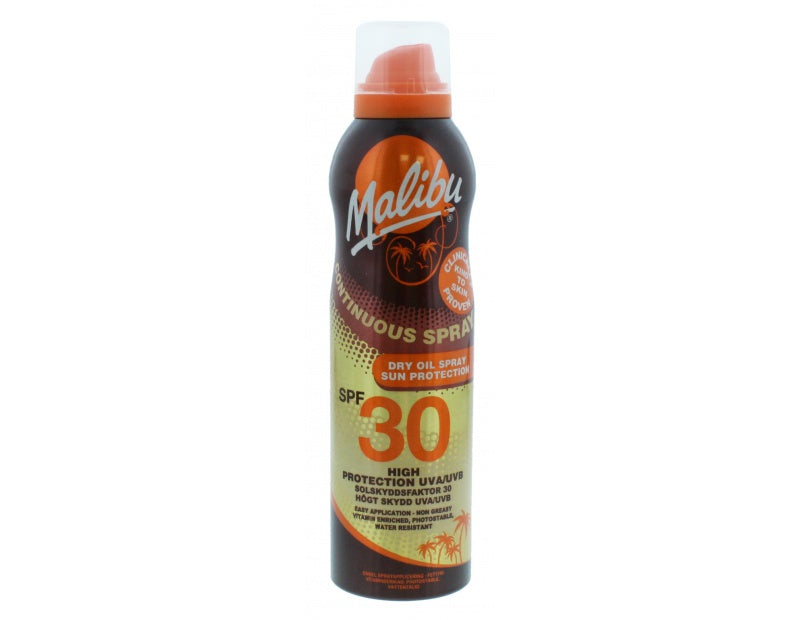 Malibu - Continuous Dry Oil Spray SPF30
