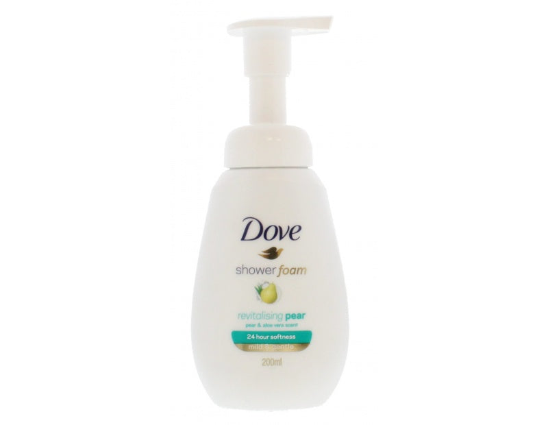 Dove - Revitalising Pear Badeskum