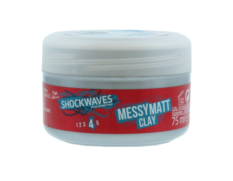 Wella Shockwaves Hårvoks - Messymatt Clay