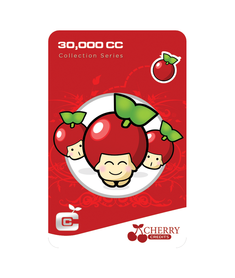 #002 | Cherry Credits | Signature Series | Delight | 30,000 CC