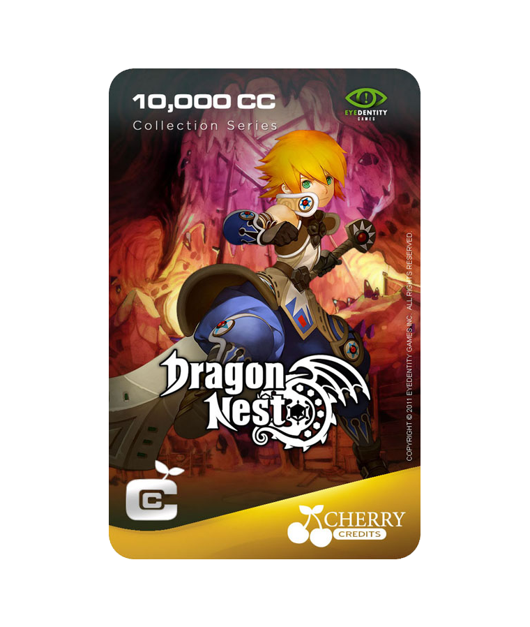 #005 | Dragon Nest | Characters Series | Warrior | 10,000 CC