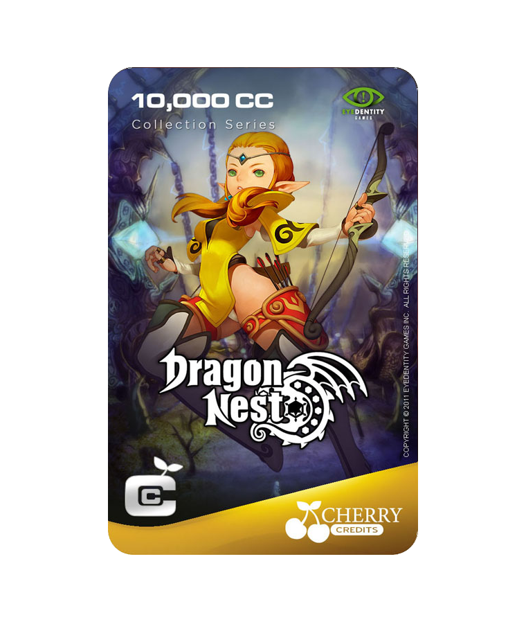 #008 | Dragon Nest | Characters Series | Archer | 10,000 CC