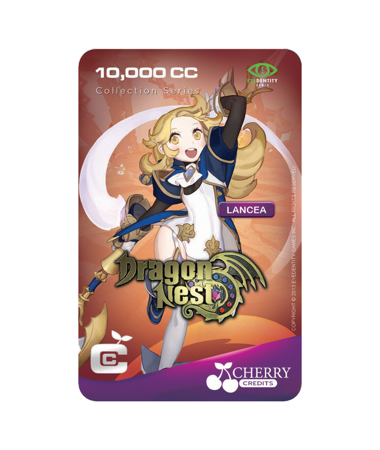 #016 | Dragon Nest | Characters Series | Lancea | 10,000 CC
