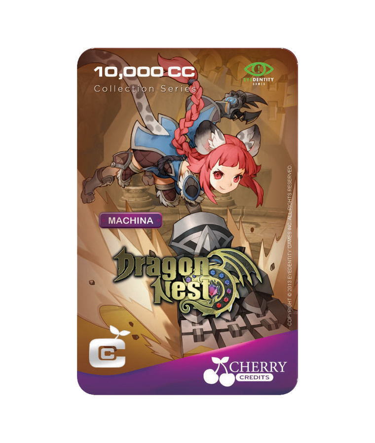 #018 | Dragon Nest | Characters Series | Machina | 10,000 CC