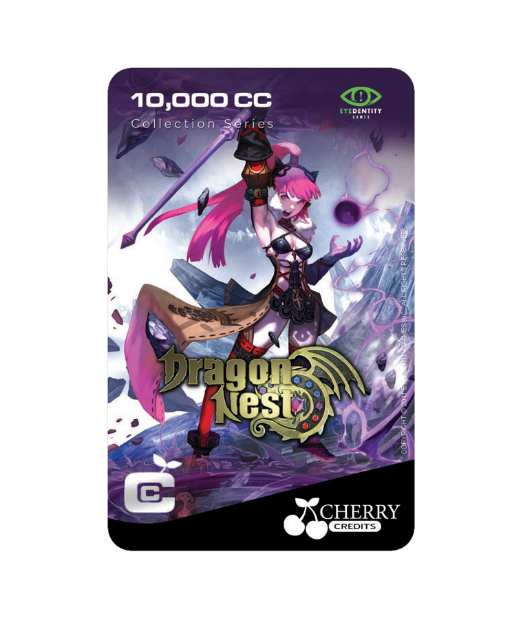 #022 | Dragon Nest | Characters Series | Sorceress Design 2 | 10,000 CC