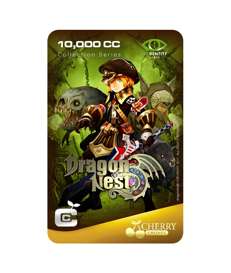 #029 | Dragon Nest | Characters Series | Warrior Design 3 | 10,000 CC