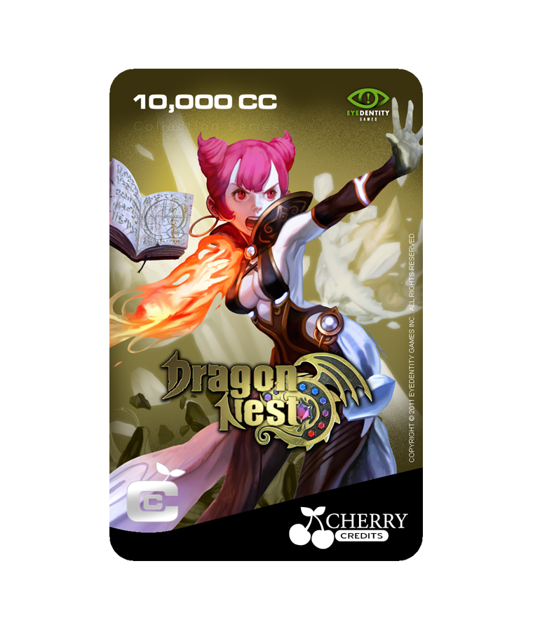 #033 | Dragon Nest | Characters Series | Sorceress Design 3 | 10,000 CC