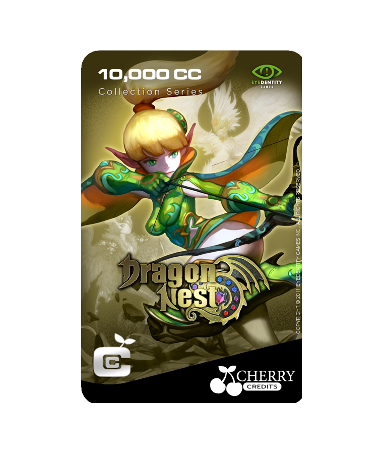 #028 | Dragon Nest | Characters Series | Archer Design 3 | 10,000 CC