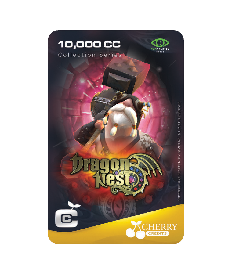 #027 | Dragon Nest | NPC Series | Berlin Design 1 | 10,000 CC