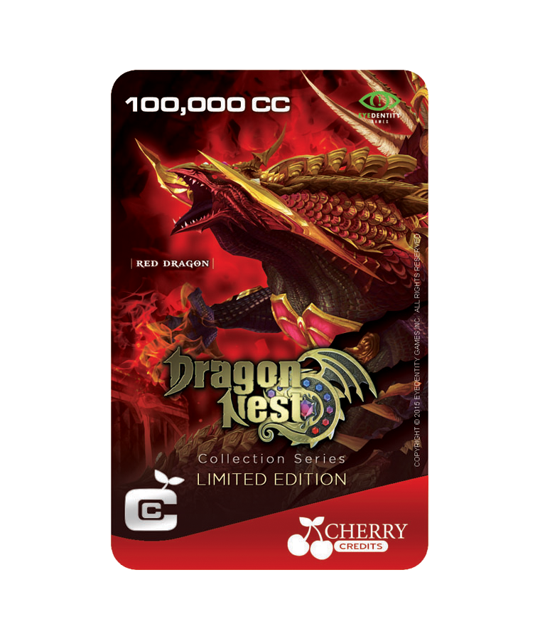 #032 | Limited Edition | Dragon Nest Special | Red Dragon | 100,000 CC