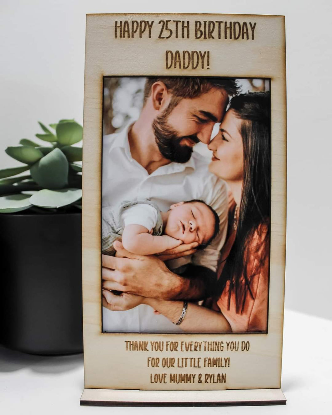 Personilsed photo frame!