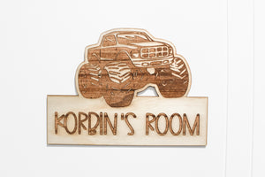 Room Name Plaque