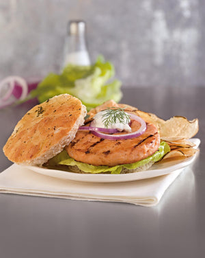 Load image into Gallery viewer, Salmon Burger 4 oz Alaskan