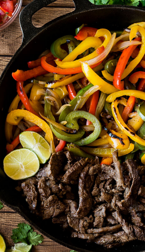 Steak Fajita Meal Kit for 6