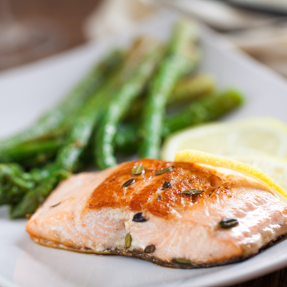 Lemon Baked Salmon with Asparagus Meal Kit