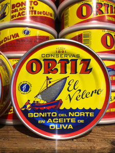 Ortiz white tuna fillets