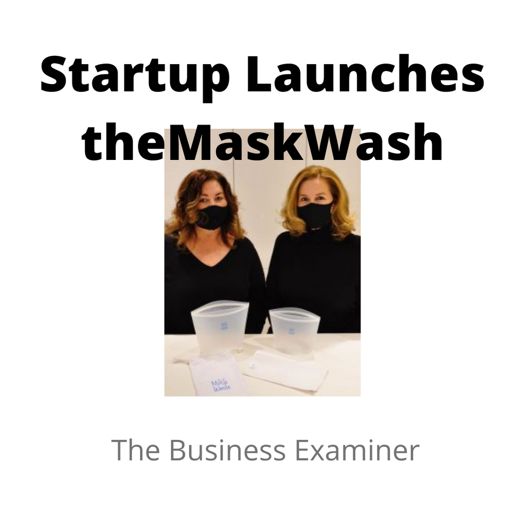 Startup Launches theMaskWash