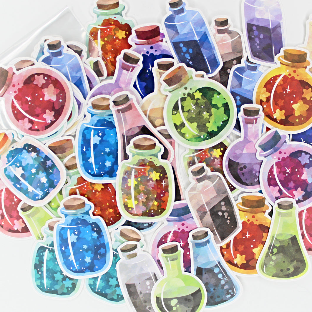 Potion Die Cuts | Pack of 20