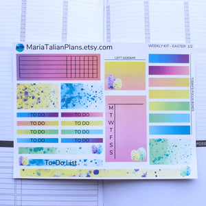 Passion Planner Weekly Sticker Kit - Easter