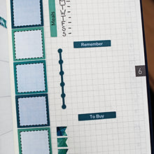 Load image into Gallery viewer, Hobonichi Weeks Checklist Dots