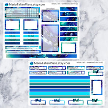 Load image into Gallery viewer, Passion Planner Weekly Sticker Kit - Simmering Depth