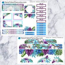 Load image into Gallery viewer, Passion Planner Weekly Sticker Kit - Tropical Paradise