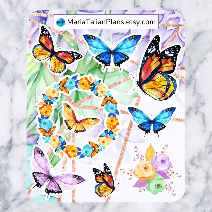 Butterfly Deco Stickers