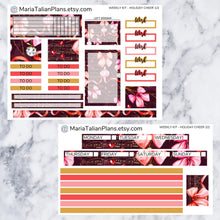 Load image into Gallery viewer, Passion Planner Weekly Sticker Kit - Holiday Cheer
