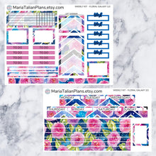 Load image into Gallery viewer, Passion Planner Weekly Sticker Kit - Floral Galaxy