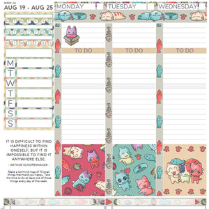 Passion Planner Weekly Sticker Kit - Cat Lover