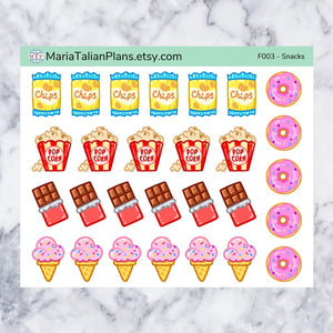 Snack Stickers | Food & Drinks