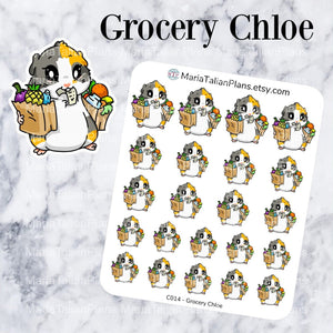 Grocery Chloe | Guinea Pig Stickers