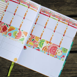 Passion Planner Weekly Sticker Kit - Fruity