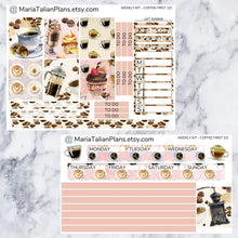 Load image into Gallery viewer, Passion Planner Weekly Sticker Kit - Coffee First