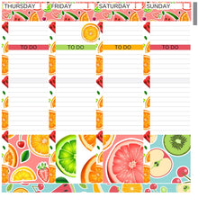 Load image into Gallery viewer, Passion Planner Weekly Sticker Kit - Fruity