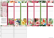 Load image into Gallery viewer, Passion Planner Weekly Sticker Kit - Tropical Summer