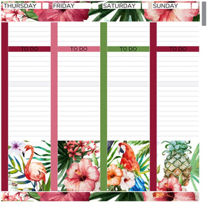 Passion Planner Weekly Sticker Kit - Tropical Summer
