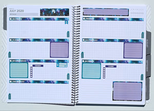 Amplify Planner Weekly kit - Starry Skyline