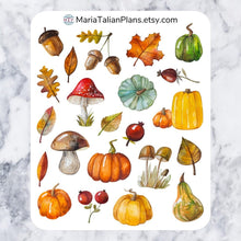 Load image into Gallery viewer, Autumn Deco Stickers